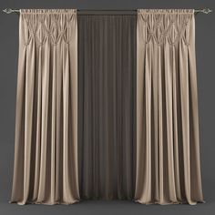 VR / AR ready Curtain model available in MAX, FBX, blinds curtain curtains, ready for animation and other projects Classic Curtains, Elegant Curtains, Modern Curtains, Living Room Decor Curtains, Gold Bedroom Decor, Cute Curtains, Curtains And Draperies, Bedroom Closet Design, Home Room Design