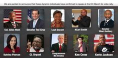 """DC March for Jobs - """"Protect American Jobs for American Workers"""" Join @TSAO Chun Hui @Ted Cruz @RevCLBryant @Katrina Pierson @Wayne Dupree AND MORE"""