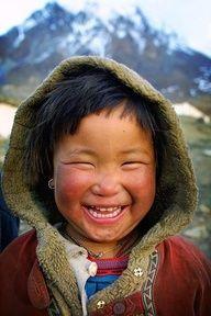 Mongolian child.........awwww
