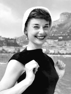 Audrey Hepburn in Monaco / Photographed by Edward Quinn (1951).