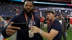 Michael Bennett boycotts trip, says he won't be used by Israel, that what real men do.
