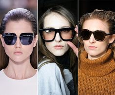 Fall/ Winter 2014-2015 Eyewear Trends: Oversized Sunglasses  #sunglasses #eyewear #fashiontrends
