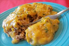 Its Too Easy Cheeseburger Casserole- would be a good quick meal with ingredients I usually have