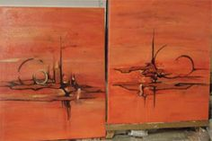 Acrylic on canvas paintings by Jan Hurst.