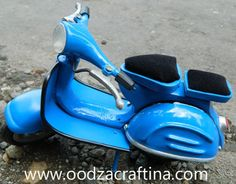 classic but looks trendy and fashionable miniature scooter