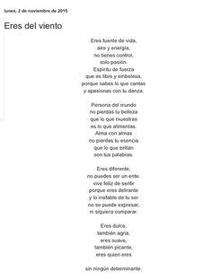 Eres del viento por Diana García Botero