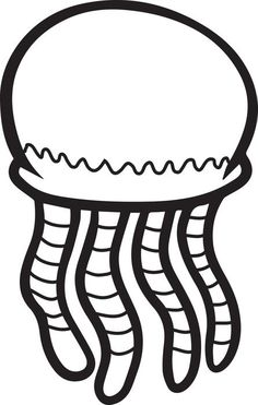 Letter J is for Jellyfish coloring page from Letter J ...