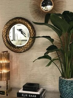 Colonial style is a big trend for Spring/Summer 2018 for both fashion and interiors. Indoor Palms, Palm Leaf Wallpaper, Dark Wood Furniture, British Colonial Style, Wooden Bedroom, Patio Design, Home Deco, Outdoor Patios, Outdoor Rooms