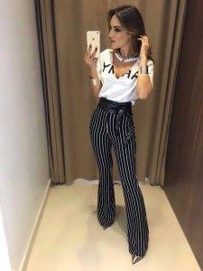 Compre Calças Feminina Em Até 6x Sem Juros - Moda Feminina na loja Estação Store com o menor preço e ande sempre na moda.