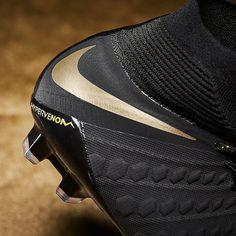 separation shoes 3720b 1c4e1 Nike Hypervenom Phantom III Elite DF FG - Black Metallic Vivid Gold