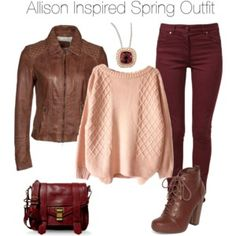 Teen Wolf - Allison Inspired Spring Outfit