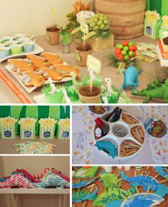 Dinosaur Themed Party Inspiration