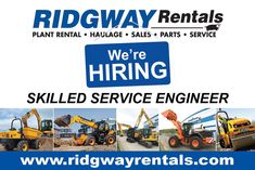 Ridgway Rentals (@ridgway_rentals) on Twitter Heavy Machinery, Self Driving, Sale Promotion, Heavy Equipment, Twitter Sign Up, Engineering, Business, Building, Buildings