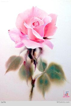 Watercolor Painting By Artist La Fe 10