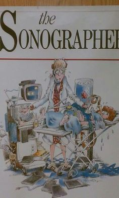 Used to have this at work 10 years ago, would love toget another copy for my room Ultrasound Humor, Ultrasound Physics, Ultrasound Sonography, Ultrasound Technician, Day Work, Fun At Work, Hospital Humor, Cognitive Distortions, Work Images