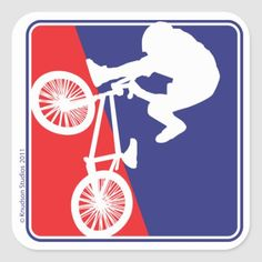 BMX Biker Red White and Blue Square Sticker   biker gear, old bikers, motorcycle couple quotes #moto #bikerlife #ktmindia, 4th of july party Motorcycle Helmet Camera, Motorcycle Couple, Vintage Biker, Biker Gear, Blue Square, 4th Of July Party, Succulents Diy, Chicago Cubs Logo, Bmx