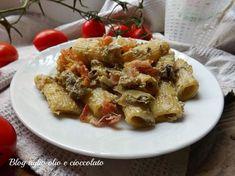La pasta con carciofi pancetta e ricotta è un piatto molto semplice da fare molto veloce ma sopratutto un piatto ricco di sapore