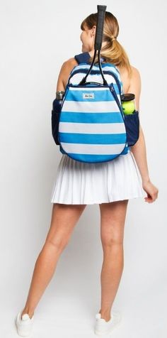 Check out this Splash Ame & Lulu Ladies Game On Tennis Backpack! Find the best Tennis Accessories at nicolestennisboutique.com