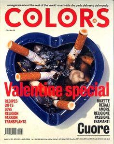 Redazionale - Oliviero Toscani Studio Copertina #Colors San Valentino