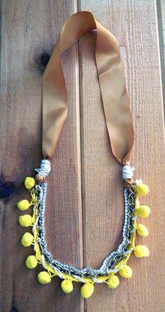 easy DIY Pom Pom Jewelry
