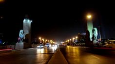 egypt at night time lapse ... HD free stock footage .. ( 141 )