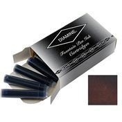 Diamine Ink Cartridges Chocolate Brown