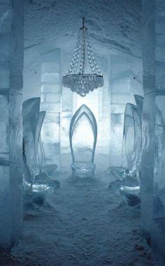 Ice Hotel in Jukkasjärvi, Sweden