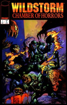Wildstorm: Chamber of Horrors #1 | Cover art by Simon Bisley