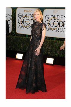 Globos de Oro 2014. Cate Blanchett premio StyleLovely a la más #elegante