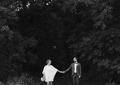 © Andrea Kiesendahl Bride and Groom, hold hands, Weddingday, Weddingphotograpgy