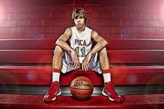 High School Senior Sports Enhancement Session - Basketball  Joshua Hanna Photography - Cross Lanes, WV