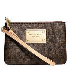 d93239600952eb MICHAEL Michael Kors Handbag, Jet Set Small Signature Wristlet - Shop All -  Handbags &