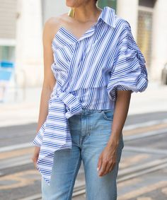 9 New Shapes in Shirting to Get Excited About Now | from InStyle.com