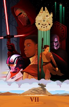 Star Wars : The Force Awakens...