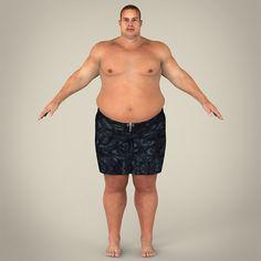 Realistic Fat Man   http://3docean.net/item/realistic-fat-man/8359870?ref=damiamio