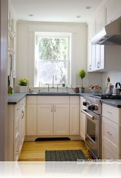 Küçük mutfak dekorasyon