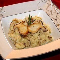 risotto aux cèpes et parmesan