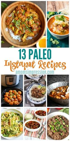 The Instapot is an amazing time-saving tool for the kitchen. Check out these 13 Delicious Paleo Instapot Recipes Your Family will Love!