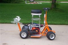 Bar stool racers are small, motorized vehicles that are typically characterised by the use of a bar stool as a seat. In terms of power, bar stool racers are similar to go-karts.