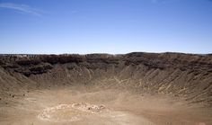 Barringer Meteor Crater Meteor Crater, Spaces, Usa, Beach, Water, Travel, Outdoor, Voyage, Trips