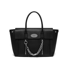 Shop the New Bayswater bag in Black Smooth Calf with Zips at Mulberry.com. The Bayswater was launched in 2003 and is one of our most iconic bags. For the Winter collection the Bayswater gets a punk-rock inspired makeover, with mixed chain and zip detailing.