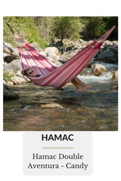 Hamac Double Aventura - Candy Outdoor Furniture, Outdoor Decor, Hammock, Candy, Home Decor, Gardens, Colombia, Decoration Home, Room Decor