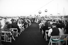 Zack And Lindsay S Nautical Venice Beach Wedding La By Matthew Venue