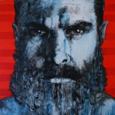 www.munromunromunro.com Art by Munro #SouthAfricanArtist #painting #munromunromunro #bemenofcourage #artist #munro Men Of Courage, South African Artists, Portrait Art, Face, Painting, Contemporary, Painting Art, Paintings, Painted Canvas