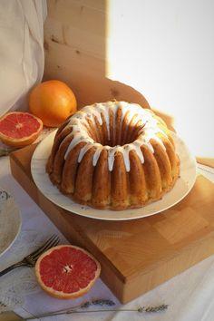 La Chef A: Bundt cake de pomelo rosa y lavanda