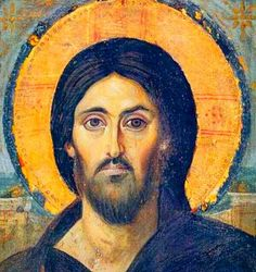 Encaustic painting on Wood. Catherine's Monastery, Sinai, gift of the Emperor Justinian and the oldest preserved icon of Christ Pantocrator, as well as the oldest known panel icon. Christ Pantocrator, Byzantine Art, Byzantine Icons, Religious Icons, Religious Art, Catholic Art, Images Of Christ, Old Images, Orthodox Icons