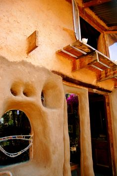 Marcella de Boom's Cob House, Cullinan, South Africa