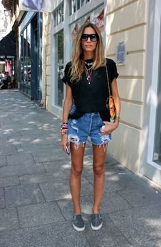 10 Ways To Style Cut Off Shorts | Shorts
