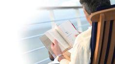 Reading a book on cruise balcony - Avoya Travel Article: 'Editor's Pick: Last Chance Luxury Cruises for 2013'