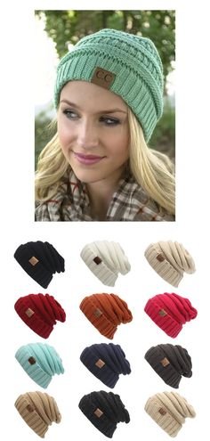 Only $15.99 + Free Shipping in the US! Chunky Soft C.C Beanies. Buy yours today at sale price from www.FamilyDeals.store